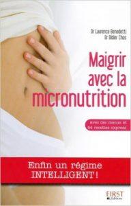 livre maigrir avec la micronutrition