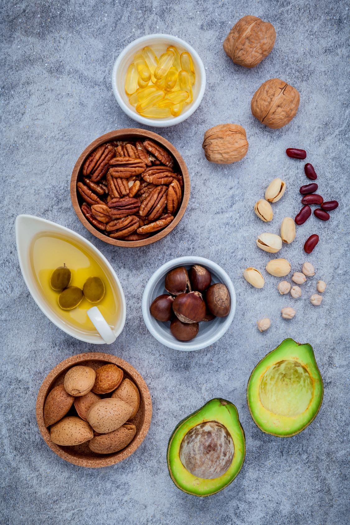 Omegas 3 et antioxydants