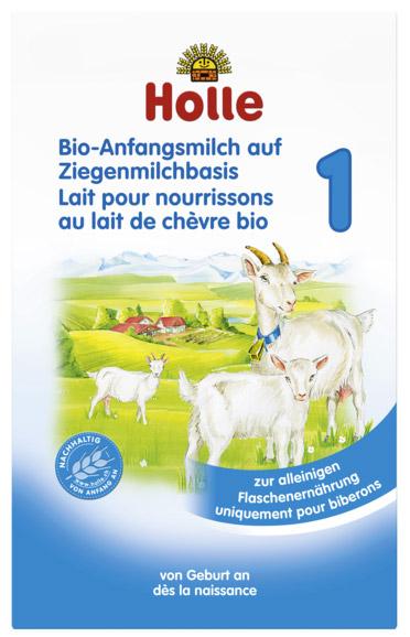 Lait infantile chèvre bio - holle